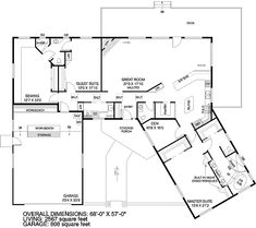 House dream home on pinterest house plans floor plans for Sewing room floor plans