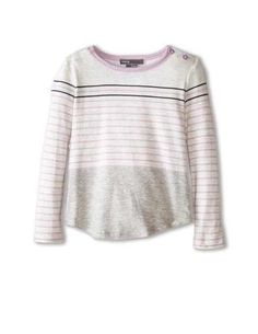 Vince Baby Girl Long Sleeve Striped Tee Size 12 Months $34 | eBay