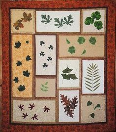 Nature's Leaves Quilt pattern $12.99 on Craftsy at http://www.craftsy.com/pattern/quilting/home-decor/natures-leaves-block-of-the-month-quilt-/44574