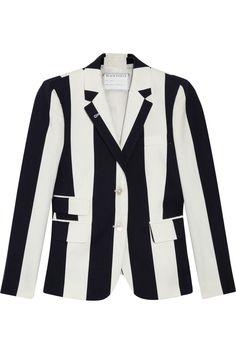 Black Fleece Striped cotton blazer NET-A-PORTER.COM !!!!!!!!!