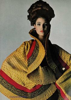 Shawl by Mr. John, 1965. by elvia