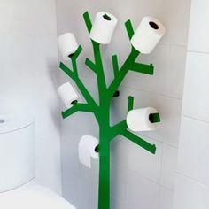 Держатель для туалетной бумаги: напольный и настенный, цена и фото