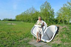 Голландский переносной погреб для хранения продуктов
