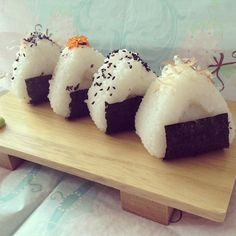Home Made Japanese Rice Ball