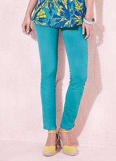 8313ef9e564 Kaleidoscope Embellished Pocket Slim Fit Jeans Green Size UK16 SA170 MM 04   fashion  clothing