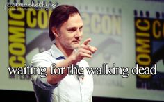 Waiting for The Walking Dead |David Morrissey photo by: Gage Skidmore #twd