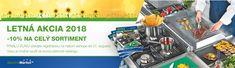 Využite letnú akciu a zaregistrujte sa v gastromarket. Nasu, Catering Equipment