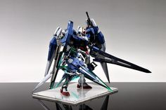 MG 1/100 00 Gundam Seven Sword/G - Painted Build   Modeled by Suny Buny        CLICK HERE TO VIEW MORE IMAGES...