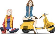 劇場版『フリクリ』オルタナ/プログレ上映劇場情報 Furi Kuri, Little Busters, Japanese Art, Anime Art, Princess Zelda, Animation, Fan Art, Manga, Drawings