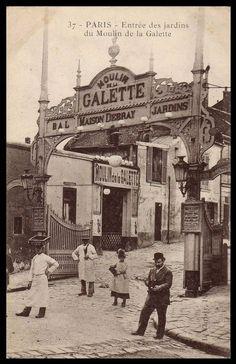 Le Moulin de la Galette.