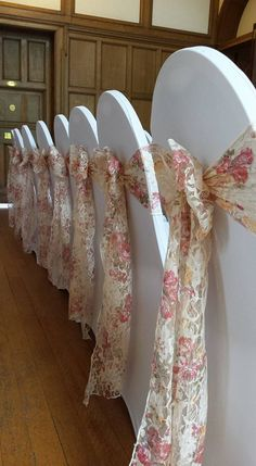 Pink Sash Wedding Vintage