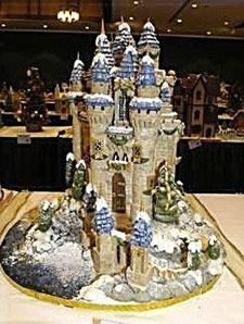 Disney Castle Gingerbread!