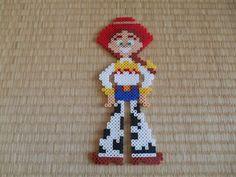 Jessie - Toy Story perler beads | Jasmine | Pinterest | Jessie Toy ...