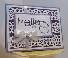 A Lacy Hello!