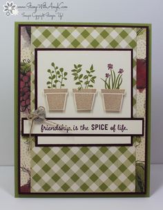 Gift From The Garden 2 - Stamp With Amy K