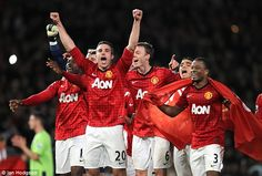 Van Persie (No 20)won the Premier League Golden Boot in 2013 in his debut season at Old Trafford