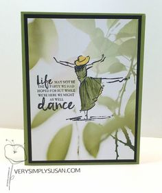 Beautiful You, Serene Scenery, Stampin' Up!