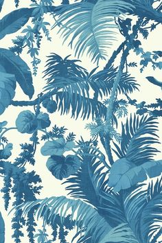 Discover hundreds of wallpaper ideas on HOUSE - design, food and travel by House & Garden including Pampas by House of Hackney