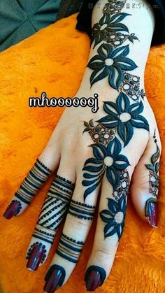 We bring to you hand picked collections for inspiration Mehndi Designs Finger, Henna Tattoo Designs Simple, Floral Henna Designs, Full Hand Mehndi Designs, Henna Art Designs, Mehndi Designs For Beginners, Mehndi Designs For Girls, Wedding Mehndi Designs, Mehndi Designs For Fingers