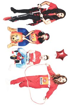 Little Mix photoshoot for #SportRelief
