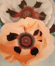 Georgia O'Keefe, Poppies (1950)