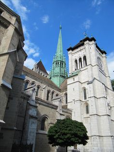 The Cathedral of Saint Pierre, Geneve, Switzerland #Ceneve