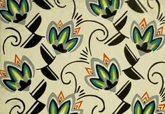 ¤ German pattern 1939. Unsigned via The Textile Blog: A Celebration of Pattern and Creativity