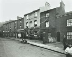 My ancestors lived in this street (the dust hole) Rope Yard Rails