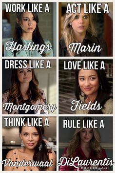 dress like a Montgomery,hik like a vanderwaal ❤❤❤ act like a marinwork like a hastingslove like a fields❤ and most Importantly rule like a DiLerauntis
