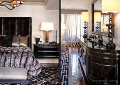 Kris Jenner Master Bedroom