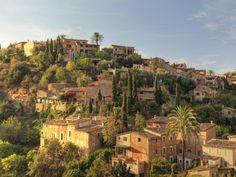 Spain, Balearic Islands, Mallorca, Serra De Tramuntana, Deia Village
