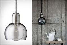 Mega Blub by Sofie Fefer. I love the double layer of glass and soft gray color.