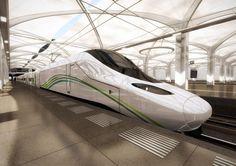 Haramain high speed train-talgo Avril-pininfarina