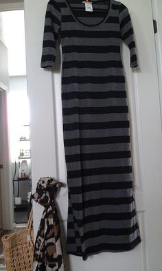 Stripe Maxi - GoodwillAZ Maxi + 20% off maxi by NYCLQ, #Goodwill #thrift