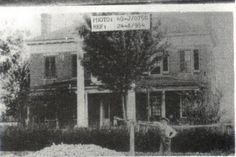 A rare photo from the 1920s of the famous Alfred Dockery House. Rockingham NC, Richmond County.