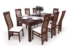 Lara étkező Leila asztallal - az eredeti - Outdoor Furniture Sets, Outdoor Decor, Dining Table, Rustic, Home Decor, Country Primitive, Decoration Home, Room Decor, Dinner Table