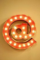 At Symbol Marquee Light  #UrbanOutfitters