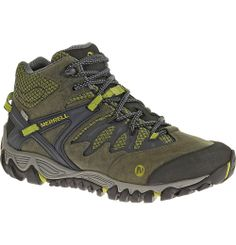 452847bb8365c Merrell All Out Blaze Mid Waterproof - Men s - Hiking Shoes - J24609 Zapatos  Trabajo