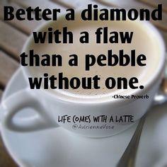 Diamond or Pebble?