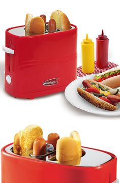 Hot Dog Toaster // SO Cool!