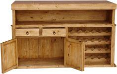 Rustic Bar, Wood Bar, Pine Bar and Rustic Bar Furniture