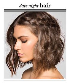 "A Sexy Style for Mid-Length Hair. Channel your sexy side with textured waves, a simple braid and Beyonce's ""Crazy In Love"" remix for the ""50 Shades of Grey"" soundtrack. Use one of these editor-approved hair powders to get lived-in, gorgeous volume. This look pairs equally well with a smoldering smoky eye or no-makeup makeup."