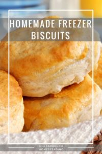 These make-ahead biscuits couldn't be easier! Throw out the Pillsbury and make your own. [Recipe]