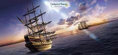 Uncharted Waters Online é um MMORPG de fantasia em 3D com uma temática náutica. Viaje em terra ou no mar e faça a sua vida como marinheiro, pirata ou comerciante!