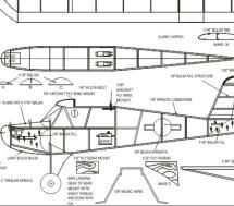 Take Your Model Airplanes to the Next Level With These Free Plans: DWG Format RC Model Airplane Plans at Aerofred