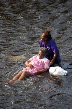 Hurricane Katrina brought destruction to my country, but it also brought out the compassion of my coutnrymen/women.