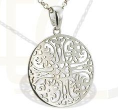 Srebrny wisiorek/ Pendant made from silver/ 74 PLN #jewellery #silver #pendant #gift