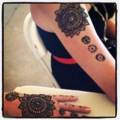 Arm henna / mehendi
