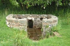 The Virtuous Well, also known as St Anne's Well, is still a place of pilgrimage; visitors to the well have suspended small strips of cloth in the hedgerow behind the well. Severn Bridge, Medieval World, Kingdom Of Great Britain, Strange Places, Picture Story, Wishing Well, Pilgrimage, Historical Sites, Places To See