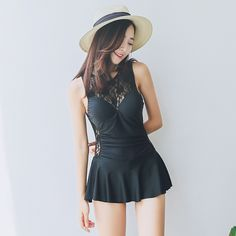 Swimming Suit For Women Cheap Sexy Bathing Suits Bikinis One Piece Womens Swim Wear Korean Woman Lace One-Piece Underwire Push